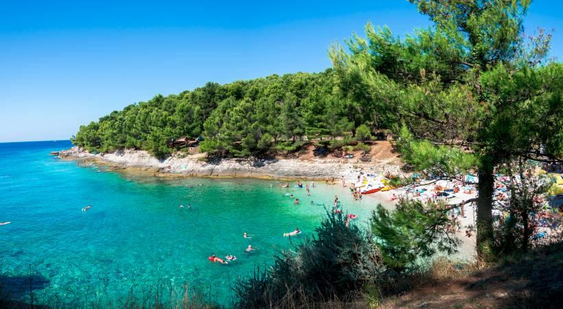 Baden und Freizeit in Pula - Urlaub in Istrien
