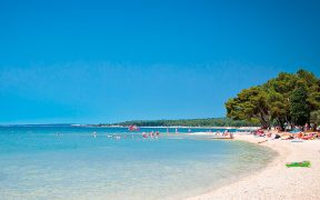 Topstrände in Istrien: Sand, Kiesel und Fels