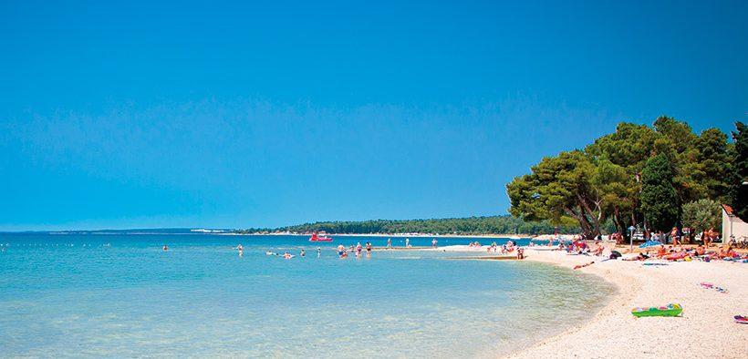Top-Strände in Istrien: Sand, Kiesel und Fels