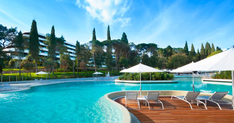 Maistra: Design Hotel in Rovinj - Schwimming Pool
