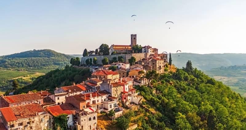 Motovun: Burg und Trüffel - Istrien - Urlaub in Kroatien
