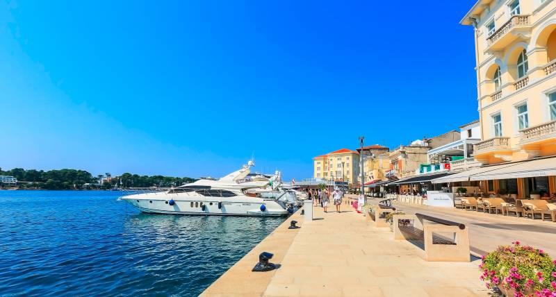 Porec Hafen - Istrien Urlaub inKroatien