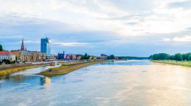 Osijek Stadt an der Drava