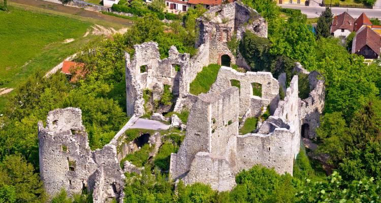 Zeuge berühmter Geschichte: Samobor Burg