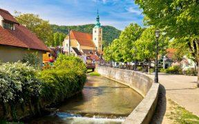 Zeuge berühmter Geschichte: Samobor Innenstadt