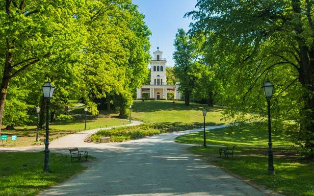 Stadtviertel Maksimir Park