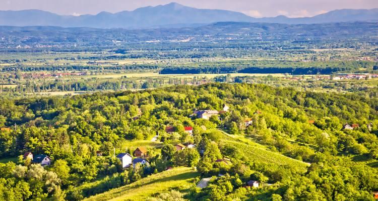 Žumberak malerische Dörfer