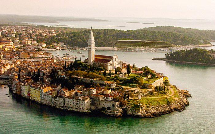 Grand Park Hotel Rovinj: Blick über die Stadt