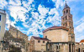 Kathedrale Wahrzeichen von Split