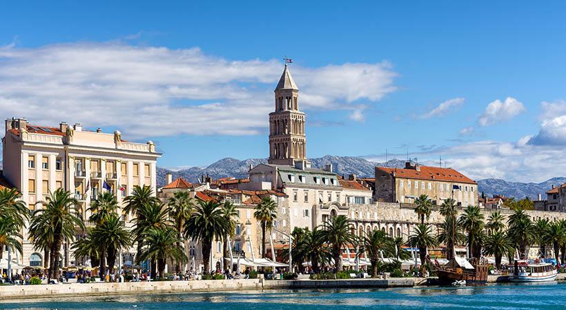 Split - Hautpstadt von Dalmatien - Urlaub in Kroatien