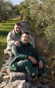 Die Brüder Tedi und Sandi Chiavalon aus Vodnjan haben die moderne Geschichte vom Olivenöl aus Istrien maßgeblich mitgestaltet.