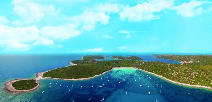 Inseln in Dalmatien