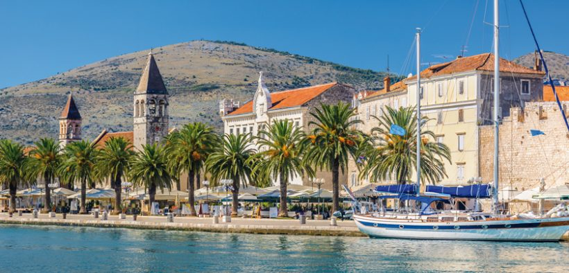 Marinas in Trogir