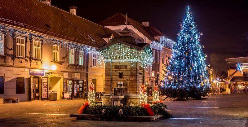 Zagreb Weihnachtszeit