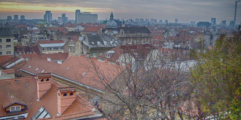 Zagreb Stadtpanorama