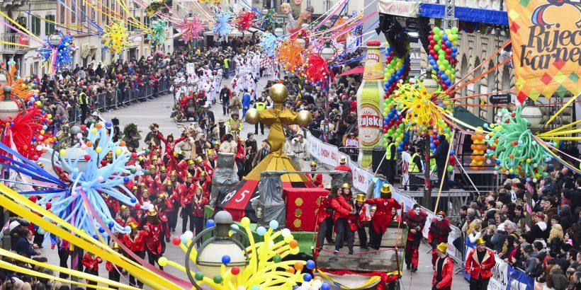 Karneval in Rijeka - die größte Faschingsparade von Kroatien