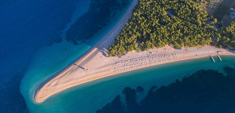 Bol mit dem schoensten Strand der Adria