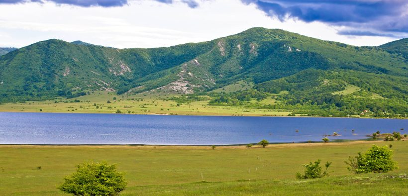 Korenica See Panorama