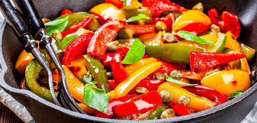 Sataraš Vegetarischer Gemüseeintopf