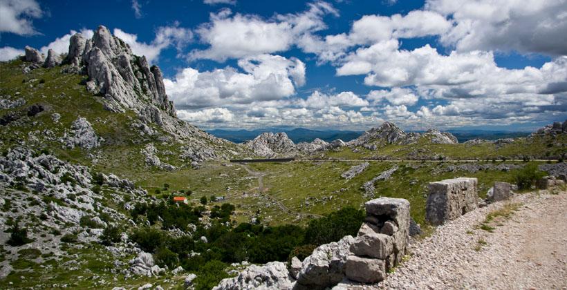 Velebit Naturpark Aussicht