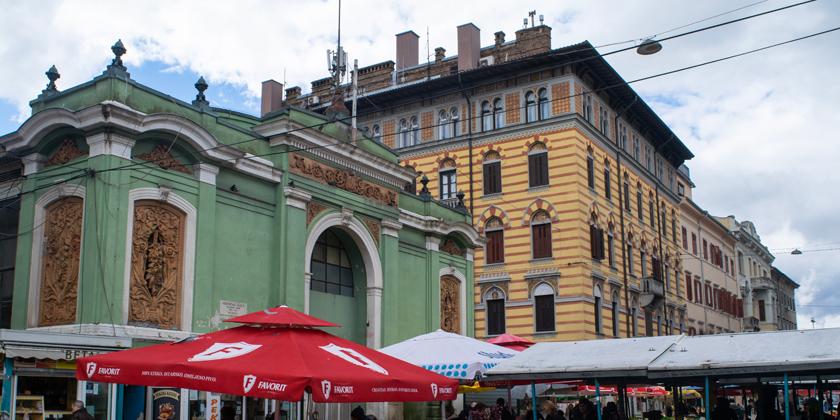 Rijeka Marktplatz Außen