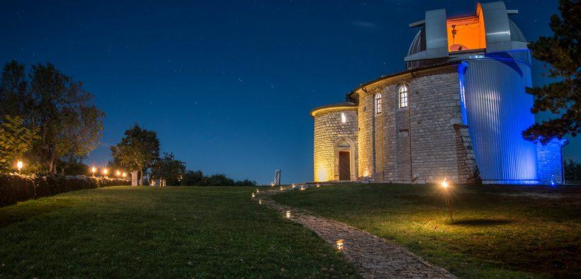 Visnjan Sternwarte Nacht