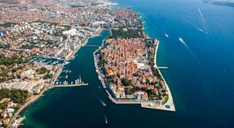 Zadar Stadt, Dalmatien, Kroatien