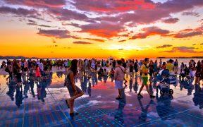 Zadar Gruss an die Sonne Aufmacher