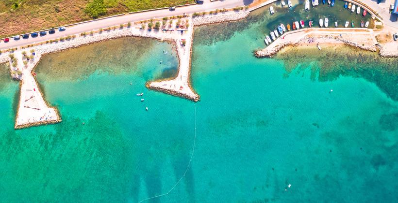 Zaton Birdview Strand