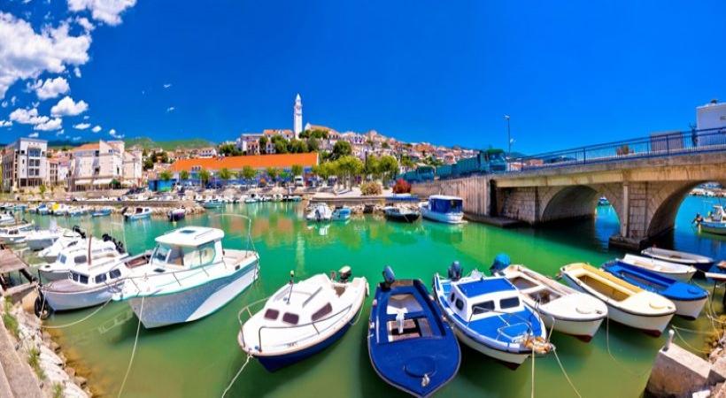 Novi Vinodolski, Kvarner Bucht, Kroatien, Weintal