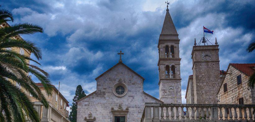 Kirche des heiligen Petrus in Supetar
