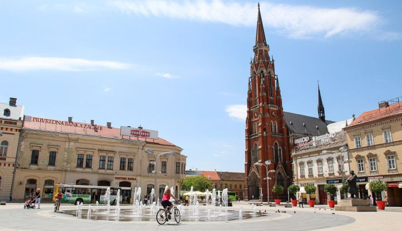 Osijek Stadtzentrum