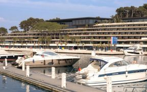 Rovinj Hafen Eröffnung Yachthafen
