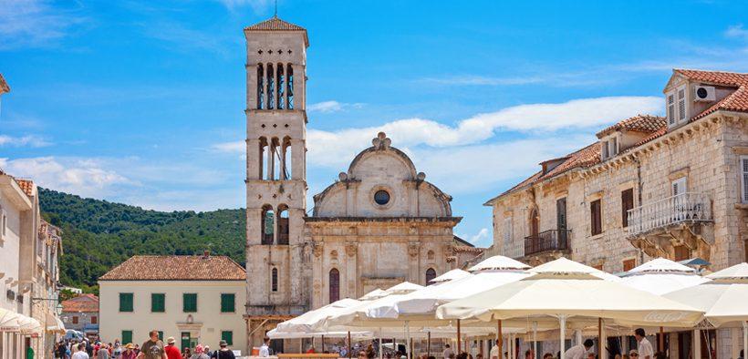 Stephan Kathedrale Hvar Stadt