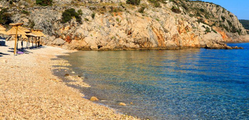 Strand Potovošće Insel Krk