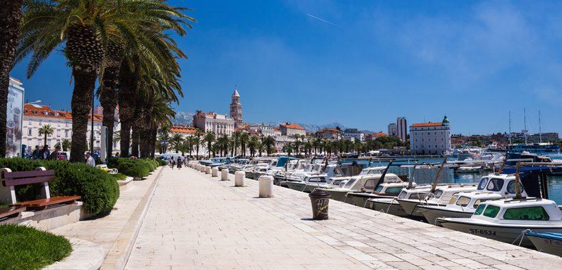 Uferpromenade Riva Split