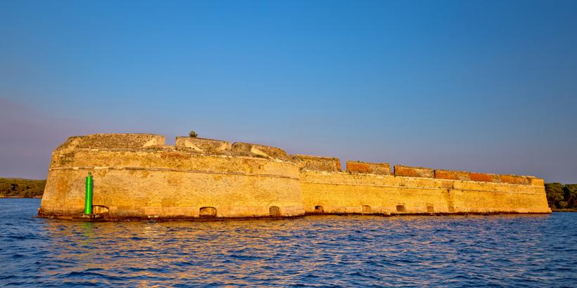 Šibenik Die Festung Sveti Nikola