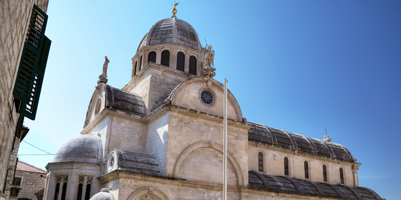 Šibenik Kathedrale des Heiligen Jakob aussen