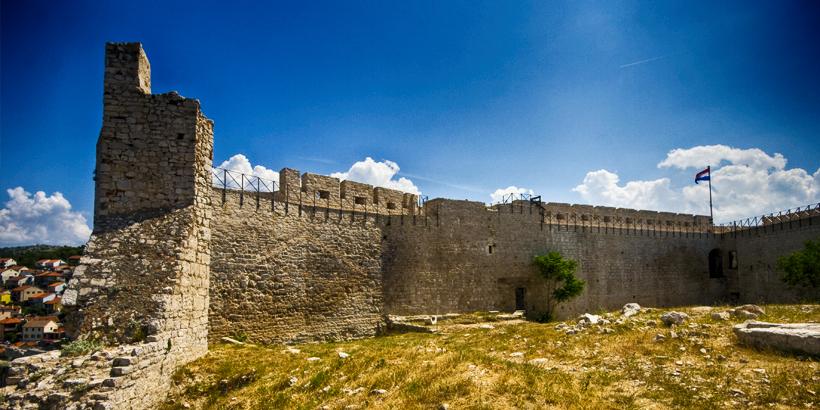 Šibenik Festung Sveti Mihovil Detail