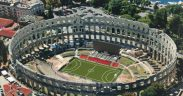 Arena Pula Legenden des FC Bayern München gegen Vatreni 1