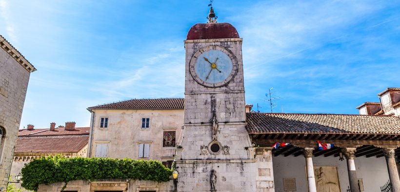 Trogir Platz Johannes Paul II