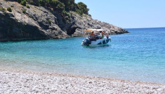 Lubenice Top-Strand Anja Kvarner Insel Cres Strände Blaue Grotte