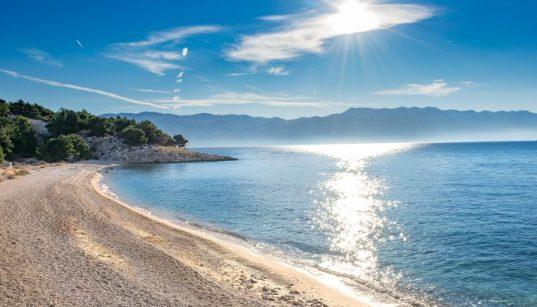 Vela Plaža Baška auf Krk