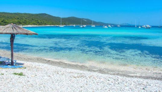 Top-Strände in Dalmatien Dugi Otok Sakarun Sandstrand