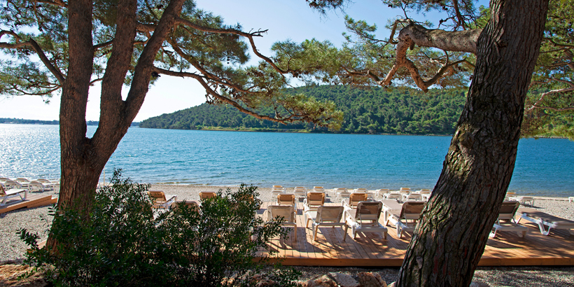 Glamping und Mobile Homes in Istrien kennen lernen Arena99 Strand