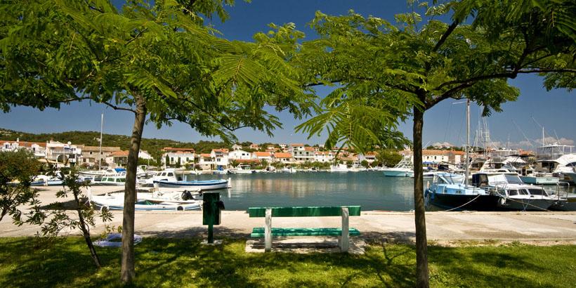 Jezera Murter Dalmatien Hafen