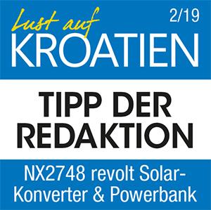 Revolt Powerbank NX2748 Testlogo