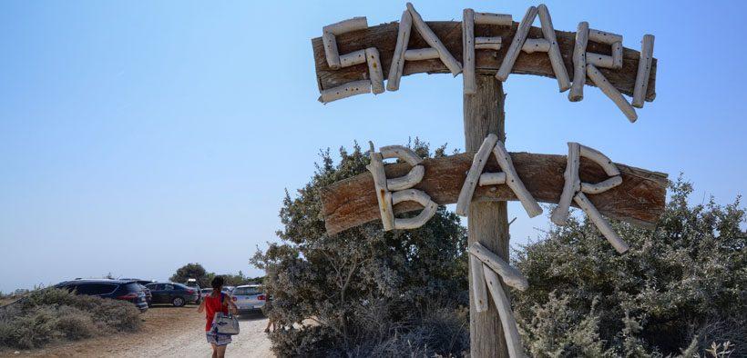 Safari Bar Kap Kamenjak Istrien