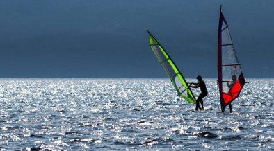 Windsurfen in Istrien