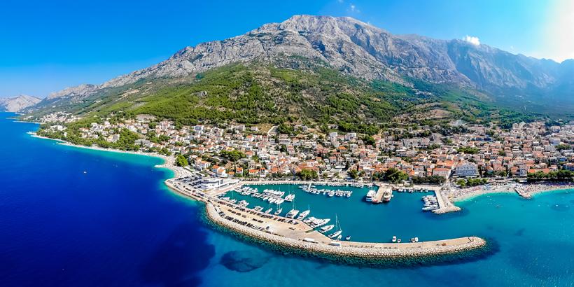 Top-Sehenswürdigkeiten an der Makarska Riviera Baška Voda